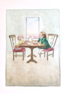 ウマレアトリエのイラスト